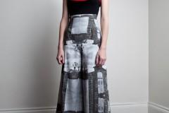 Amanda deLeon - Silk Cemetary Pant