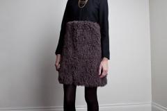 Amanda deLeon - Wool Faux Mongolian Coat